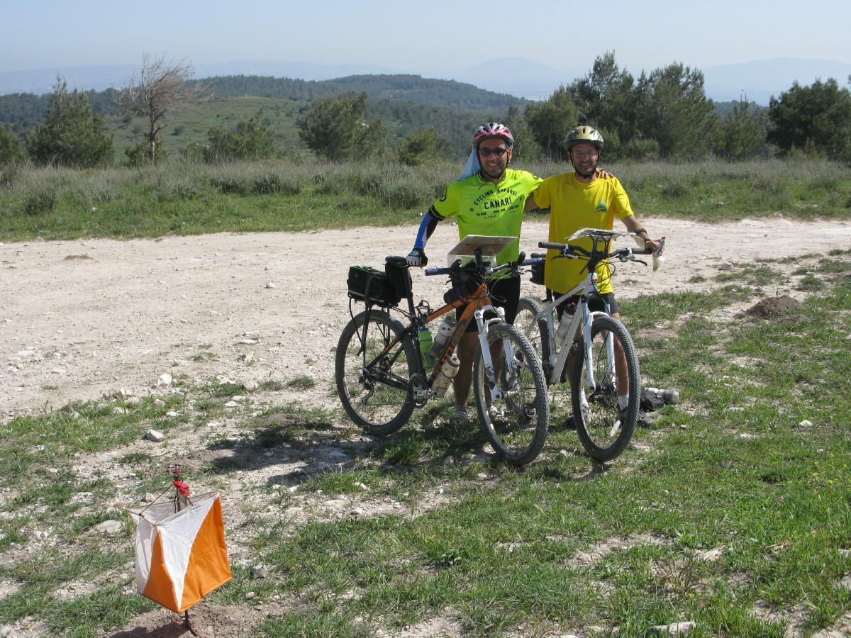 Rogaine Israel 2015 Mountain Bike